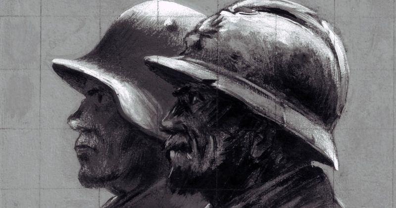 Deux-soldats_Memorial-Verdun