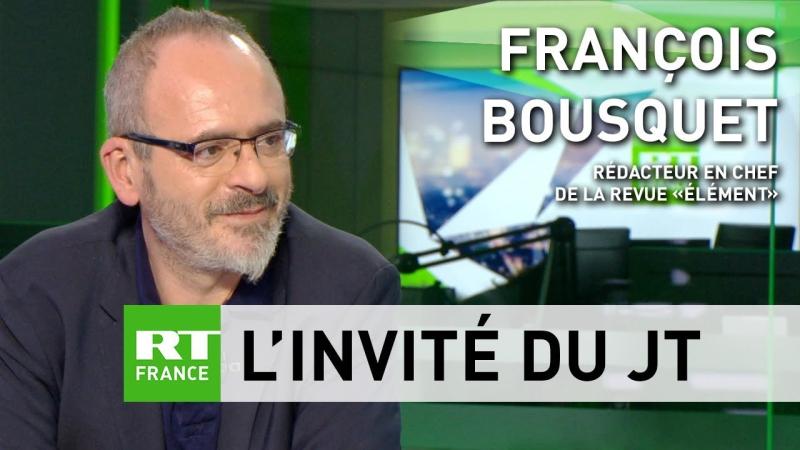 François Bousquet _ «le débat national à déjà eu lieu sur les rond point» (BQ)