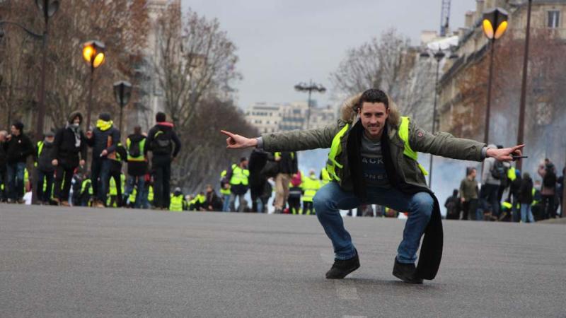 © Patrick Lusinchi - Samedi 08 décembre - Manifestation Gilets Jaunes